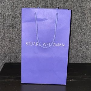 Stuart Weitzman collectible shopping bag